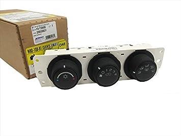 OEM NEW HVAC Temperature Climate Control Panel 06-10 Hummer H3 H3T 25920831