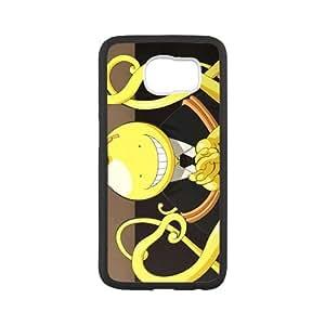Cute Assassination Classroom Koro-sensei Custom Case Cover for SamSung Galaxy S6(Laser Technology)
