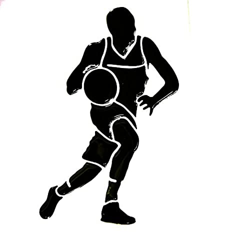 3D volumen baloncesto pared de vinilo adhesivo pegatina decoración ...