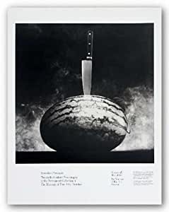 """Watermelon and Knife by Robert Mapplethorpe 17.75""""x18"""" Art Print Poster"""