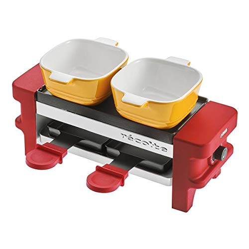 recolte''Raclette & Fondue Maker Melt'' (Red) RRF-1(R)【Japan Domestic Genuine Products】【Ships from Japan】 by Recolte