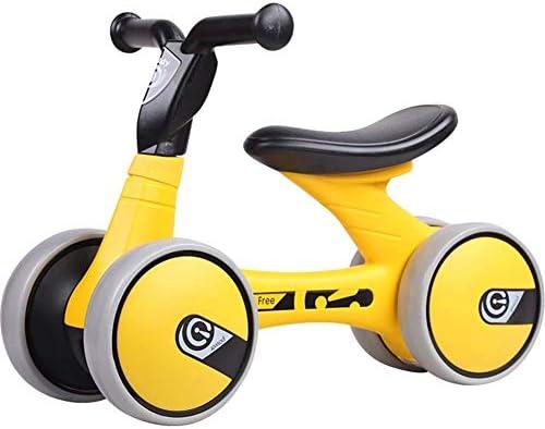 Hejok Bicicleta De Equilibrio Amarilla - Bicicletas De Equilibrio para NiñOs De 1 AñO, Carro Equilibrio para NiñOs 1-3 AñOs Edad Andador Bicicletas Juguete Deslizante Pedestal: Amazon.es: Deportes y aire libre