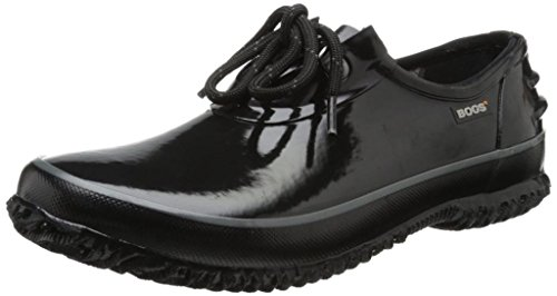 Bogs Women's Urban Farmer Waterproof Shoe,Black,6 M US