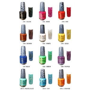 Amazing School Nail Art Big Is China Glaze Nail Polish Good Square Salon Gel Nail Polish How To Remove Nail Polish Stains From Carpet Young Excilor Nail Fungus Treatment PinkNail Polish Designs 2014 Amazon.com : Mia Secret Crackle Nail Polish Whole Set 12 Bottles ..
