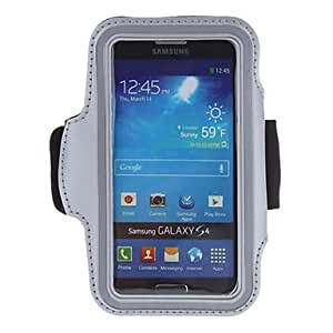 Bkjhkjy White GYM Armband Case + 3 Pack HD Screen Protector for Samsung Galaxy S3 i9300