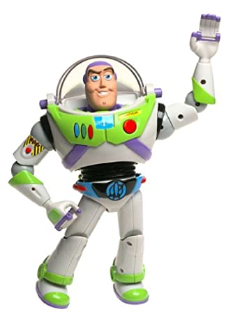 Amazon.com: Toy Story Electronic Buzz Lightyear: Toys & Games