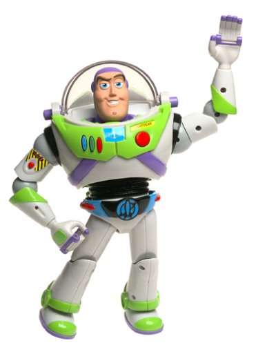 amazon com toy story electronic buzz lightyear toys games