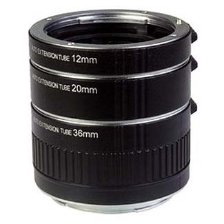 ProMaster Automatic Extension Tube Set for Nikon by ProMaster