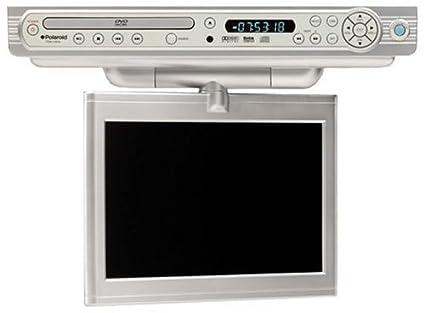 Marvelous Polaroid FDM 1000A Under Cabinet TV/DVD Combo With 10u0026quot; ...