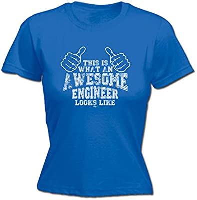 This Is What An Awesome Engineer Looks Like Funny New T-shirt Gift Present