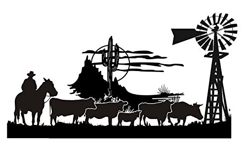 Compare Price: Wall Decals Western