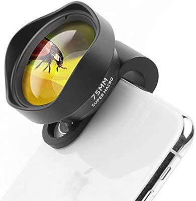 Ulanzi 10x Macro Phone Camera Lens 75mm Super Macro Clip On Mobile Phone Lens For Iphone 11 Pro Max X Xs Max 8 Plus Pixel Samsung Galaxy Oneplus
