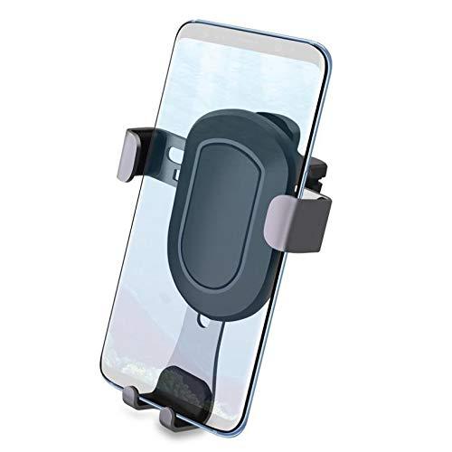 Car Air Vent Mount Easy Gravity Auto Lock Phone Holder Cradle Lightweight [Black] for