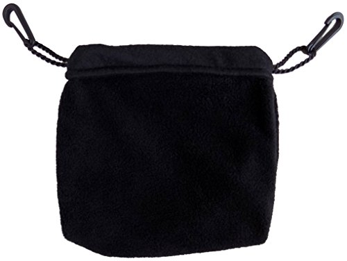(Sleeping Pouch for Sugar Gliders and other small pets (Black))