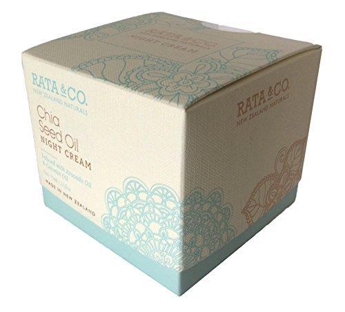 Canterbury Cream - Rata & Co. New Zealand Chia Seed Oil Night Cream