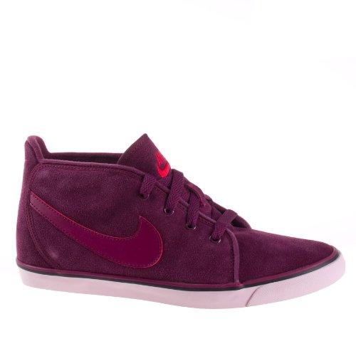 Nike W Nk Dry Df Jdi Rcr Camiseta sin Mangas, Mujer Rojo
