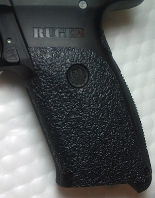 Free Traction Grip Overlays in Black for Ruger SR45 Pistols