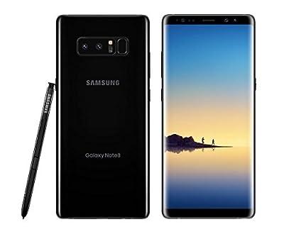 Samsung Galaxy Note 8 SM-N950U 64GB Midnight Black AT&T Unlocked - Certified refurbished