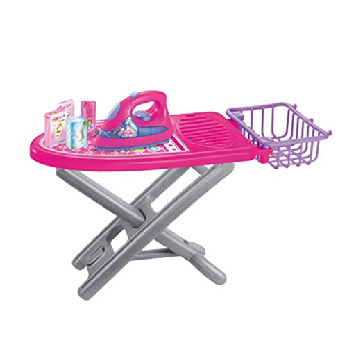 Flameer Pretend and Play Mini Home Appliance for 3+ Kids Boys and Girls - Ironing Board Set ()