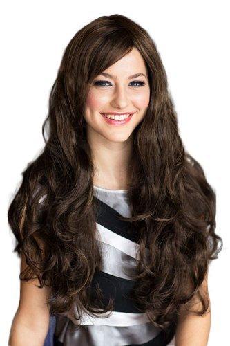 Annabelle de las pelucas Extra larga de, lateral de picos cuidado de la peluca con