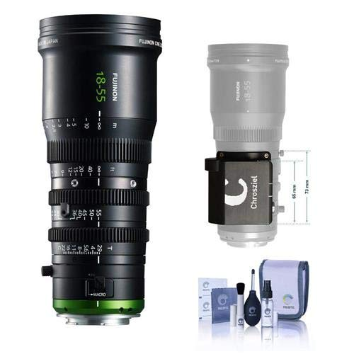 Fujinon MK 18-55mm T2.9 Lens, Sony E-Mount - with Chrosziel Zoom Control Kit MK Lenses, Cleaning Kit ()