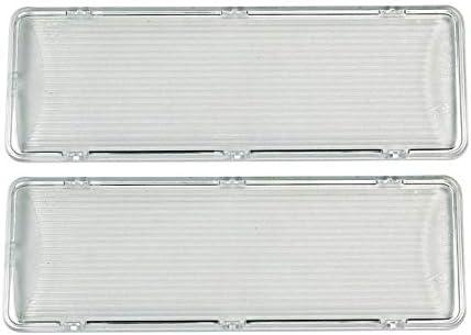 2xCover Tapa de protección de la lámpara Campana extractora Bosch Siemens 264984