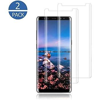 cb5aa12fedcab Amazon.com  amFilm Glass Screen Protector for Samsung Galaxy Note 8 ...