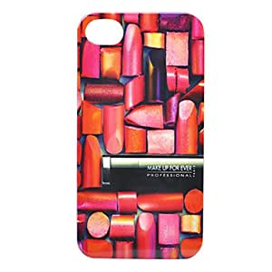 Half Lipstick Back Case for iPhone 4/4S