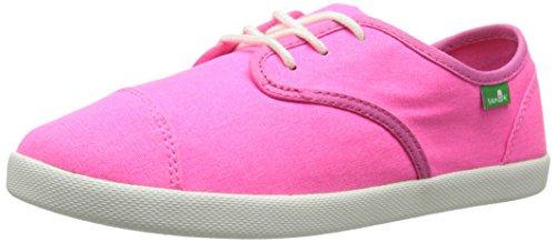 Sanuk Kids Lil Mollie Laced Shoe (Toddler/Little Kid/Big Kid) Hot Pink