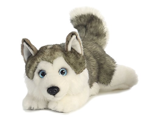 Aurora World Miyoni Lying Husky Plush