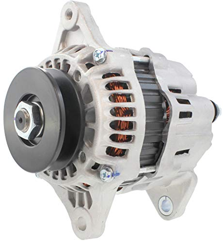 New Alternator for Case, Ford, New Holland Ag & Ind Equip Mitsubishi Industrial Engines S4Q S4S S6S 1994-On 32A68-10201 90-27-3299 A7TA3777 FF9G-18-300 FF9L-18-300 12734N 32A68-10200 A007TA0477A