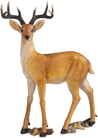 Design Toscano LY88195 Buck Deer Garden Statue Decoy