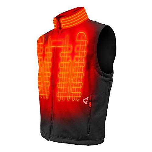 Gerbing Gyde Torrid Softshell Vest - 7V Battery Heated Clothing for Men, Black