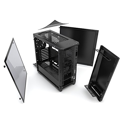 Phanteks PH-EC416PTG_BK Eclipse P400 Steel ATX Mid Tower Case Satin Black,''Tempered Glass'' Edition Cases by Phanteks (Image #16)