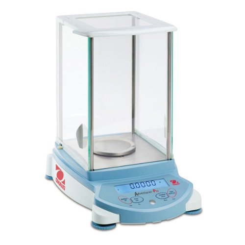 Ohaus Adventurer Pro AV64 Analytical Balance without InCal Internal Calibration, 65g Capacity, 0.1mg Readability, 0.1mg Repeatability