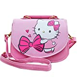 Kerr's Choice Hello Kitty Bag for Girls | Hello Kitty Crossbody Purse | Girls Cat Bag