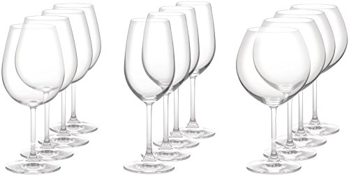 White Wine Vintage Classic (VINTAGE STEMWARE SET/12 (4 FULL BODY RED, 4 CLASSIC WHITE & 4 AROMATIC RED))