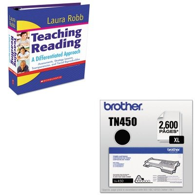 KITBRTTN450SHS054506449X - Value Kit - Scholastic Teaching Reading: A Differentiated Approach (SHS054506449X) and Brother TN450 TN-450 High-Yield Toner (BRTTN450) by Scholastic