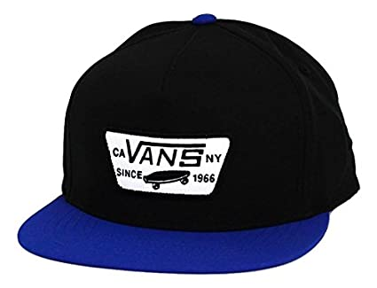 Amazon.com  Vans Off The Wall Men s Full Patch Starter Snapback Hat ... b84811de309