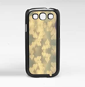 Romantic Tan Hearts Hard Snap on Phone Case (Galaxy s3 III)