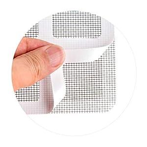 Patch anti-zanzara maglia appiccicosa Patches finestra estiva zanzariera patch riparazione fori rotti sullo schermo… 6 spesavip