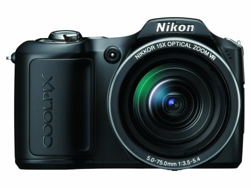 Nikon Coolpix L100 10 MP Digital Camera with 15x Optical Vibration Reduction (VR) - Detection Nikon Motion