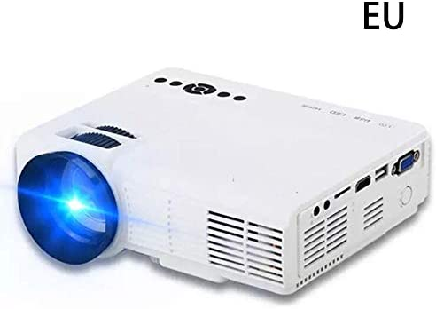 Bettying Mini Proyector LED Portátil Home Cinema Proyector con ...
