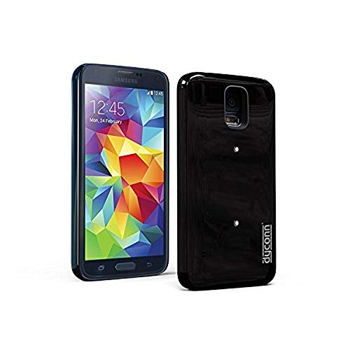 - Dyconn X5 Protective Power Case with Additional 2800 mAh Battery Extender for Samsung Galaxy S5 - Retail Packaging - Black