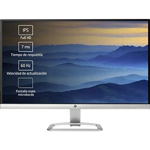 HP 27ea Monitor de 27 con Altavoces FHD 1920 x 1080 a 60 Hz IPS con retroiluminación LED Blanco