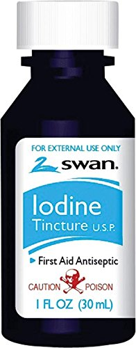 CUMBERLAND SWAN FIRST AIDS Iodine Tincture, 1 oz, 72/cs (08810) by Cumberland Swan/Vi-Jon, Inc.