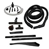 ZVac Compatible Attachment Kit Replacement for Rotator Professional Lift-Away Upright Vacuums. Generic Shark Vacuum Extension Hose + Accessories Kit - Floor Brush, Flexible Crevice, Micro Attachments