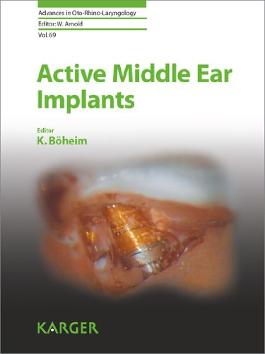 Active Middle Ear Implants: 69 (Advances in Oto-Rhino-Laryngology) Pdf