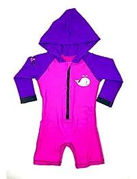 LabsByMAKO MAKO 1 Piece Child Hooded Sunsuit/Rashguard UPF50+