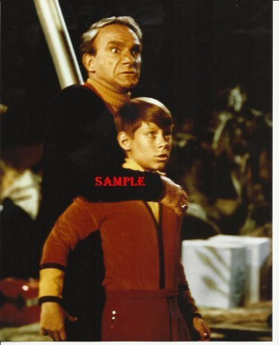 Lost In Space Jonathan Harris as Dr. Smith with arm around Bill Mumy neck Photo 8x10 LIS1013 from Photo Lab